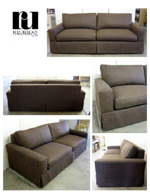 Richman Upholstery Co Crafters Of Fine Furniture In